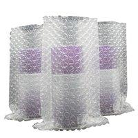 20 * 20 cm luftsäulenbeutel blase dämpfung wrap spule express verpackung stoßfest film anti-kollision puffer aufblasbare blasen säulen m1ji