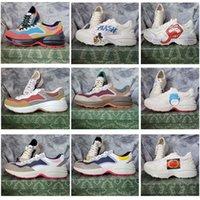Novo Runaway Baixo Calçados Casuais Top Sneaker Designer Padrão Plataforma Clássica Camurça De Couro Esportes Skates Sapatos Homens Mulheres Sneakers 35000