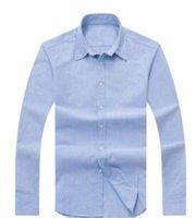 Erkek Gömlek Üst Küçük At Kaliteli Nakış Bluz Gömlek Uzun Kollu Katı Renk Slim Fit Rahat Iş Giyim Uzun Kollu Gömlek