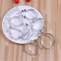 Baking Moulds 7 Pcs Pineapple Apple Fruit Shape Cookies Cutter Set Christmas Wedding Biscuit Mould Sugarcraft Pastry