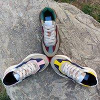 سيدة سوليد سوليد عارضة الأحذية الأحذية أحذية رياضية رسائل الدانتيل يصل منصة الترفيه النساء الأحذية أزياء جديدة شقة قماش الأحذية مع الحجمل