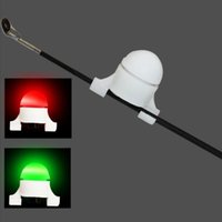 Участок укуса рыболовства с аккумуляторным аккумулятором электронные укусы сигнализирующие звонки наконечника CARP ночной светильник