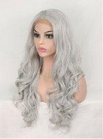 2021 новый парик европейские и американские женщины длинные вьющиеся волосы большие волны передний кружевной парик высокой температурой нитевидный головной крышка оптом