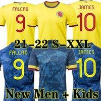 2021 2022 كولومبيا لكرة القدم جيرسي 21 22 جيمس فالكاو كوبا أمريكا الرجعية 1990 قميص كولومبيا لكرة القدم فالديراما كوادرادو Camiseta دي فوتبول مايوه