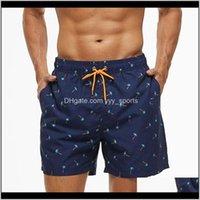 Men'S Sport Running Beach Short Board Sell Swim Trunk Pants Quick-Drying Movement Surfing Shorts Swimwear For Male Eftfm Mmygh