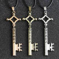 Yutong Angriff auf Titan Halskette Eren Schlüssel Shingeki Nein Kyojin Anhänger Mode Vintage Retro Anime Schmuck Für Männer Cosplay Großhandel