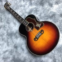 Handgemaakte custom 43 inch jubmo schimmel massief hout akoestische gitaar