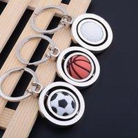 الحزب صالح 3D الرياضة الدورية كرة السلة كرة القدم جولف كيرينغ هدايا تذكارية قلادة هدايا الكرة مفتاح ZWL343