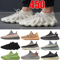 450 Nube Blanco Zapatillas de correr Negro Dark Slate Sneaker Ash Stone Blue Pearl Sand Taupe Designer Hombres Mujeres Sneakers V2 Zapato reflectante