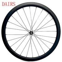 자전거 바퀴 700C 디스크 휠셋 50mm 앞 휠 클리너 튜브리스 26mm 너비 Novatec D411 100x12mm 허브 탄소