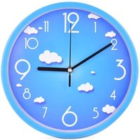Wall Clocks Mute Clock Living Room Personality Modern Minimalist Household Quartz Round Creative Watch