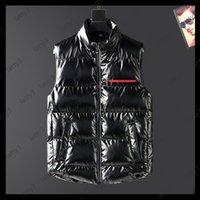 2022 New Designer Vest Mens Women Brand Sleeveless Jacket Cotton Padded Mens Down Vest Winter Casual Coats Male Waistcoat Luxury 20101401T