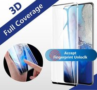 3D Curved Case Friendly Tempered Glass For Samsung Galaxy S21 S20 Ultra S10 Plus S9 s8 Note 20 10 9 Huawei Mate 40 Pro Full Cover Screen Protector