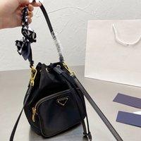 2021 мода p нейлоновая ведро ведро ведро высокого качества Верхняя ручка со столовой поперечному плече multi pochette съемный ремешок женщин mini дизайнер luxury_handbags 20c