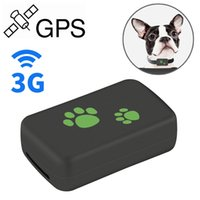 WTYD ل TK203 2G GPS GPRS GSM البضائع الشخصية حقيبة الحيوانات الأليفة تحديد طوق الحيوانات الأليفة في الوقت الحقيقي