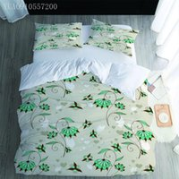 Bedding Sets Arrival 3D Set Queen Size Bedclothes Cartoon Flower Pattern Printing Duvet Cover Pillowcases Full King