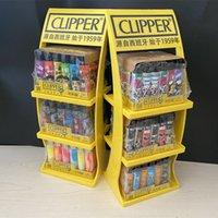 2021 Original Cliper Feuerzeug Metall Schleifscheibe Butangas Feuerzeug Nylon Fackel Freie Feuer Geschenkbox Verpackung für Sammlung Männer Geschenk