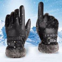 Five Fingers Gloves Men Women Ski Ultralight Waterproof Winter Warm Snowboard Motorcycle Riding Snow