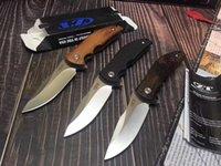 """Zero Tollerance ZT0606 Coltello pieghevole 3.06 """"9Cr18Mov Blade G10 e manico in legno Camping, escursionismo, viaggi, pesca, attività all'aperto, EDC, coltelli tattici autodifesa"""