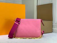 Cossin Mujeres Lujos Diseñadores Bolsos 2021 Billetera de cuero Hombro PiecesZhouzhoubao123 Mini Bolsos Bolsa Crossbody