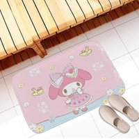 Cushion Decorative Pillow 1pcs 40*60cm Anime Cartoon My Melody Soft Carpet Children Home Bedroom Rugs Bathroom Non-slip Floor Mat Kawaii Plu