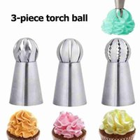 Cake Tools 3pcs Pastry Bag Nozzle Diy Silicone Cakes Decorating Tip Set Mouth Kitchen Cream Cookie Baking Decor