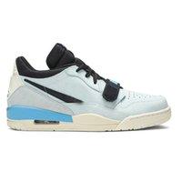 Legacy 312 Scarpe da pallacanestro blu pallido basso da uomo D7069 400 versione superiore