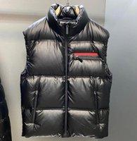 Kamizelki mody Męskie Kamizelka Kurtki z listem Odznaka Zima Kurtka Stylista Mężczyźni Kobiety Zagęścić Płaszcz Outdoor Ochrona Streetwear M-2XL