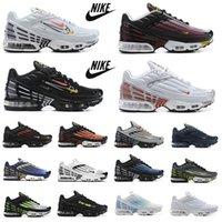 Nike air max tn plus 3  erkek ayakkabısı Topography Pack üçlü beyaz siyah hiper og klasik neon erkek kadın eğitmenler spor spor ayakkabı Tiger Laser Blue Parachute Aqua Iridescent