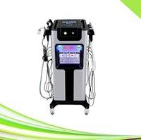 8 in 1 professional rf ultrasonic scrubber oxygen jet skin tightening oxygen jet peel oxygen facial machine