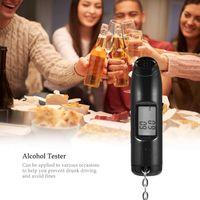 Digital Alcohol Tester Breath Breathalyzer USB Charger Detection Device Analyzer Detector Alcoholism Test