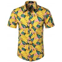 Fipyjip erkekler hawaiian gömlek masculina yaz chemise homme gömlek camisas rahat baskılı çiçek kısa kollu erkek plaj erkek