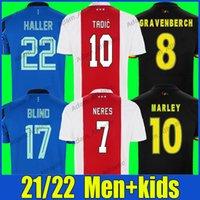 # 10 Bob Marley Soccer Jerseys Three Little Birds Shirt 2021/22 Berghuis Gravenberch Neres Camisetas de fútbol Rijkaard Bergkamp Van Basten Cruyff Jersey Men Kit Kit Top