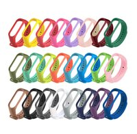 For Xiaomi Mi strap 6 5 4 3 Nfc Silicone Wristband Bracelet Replacement models Band MiBand 6543 Wrist Color TPU