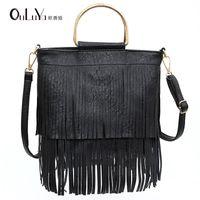 Handbag Luxurys Sfashion Music Bag Iron Elegant Festival Guangzhou Shoulder Messenger Single Women's Tassel Cncuo