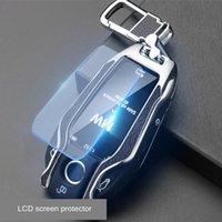 Car Key Case Cover Bag Protection Shell Suit For 6 5 7 Serie...