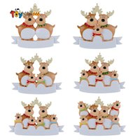 New Christmas Ornaments 2021 Tree Decoration Pendant Christmas Elk Family Christmas Gloves Coffee Cup Series Resin Pendant