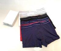 Männer Boxer Unterhose Baumwollunterhose Luxus Klassischer Regenbogen Unterwäsche Komfortable atmungsaktive hohe Qualität mit Box