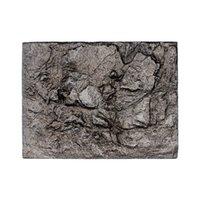 HOT 3D Foam Rock Stone Aquarium Background Board Decor Foam Board for Reptile Fish Tank 60x45cm TI99 1812 V2