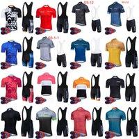 Strava equipe ciclismo mangas curtas jersey (babador) conjuntos de calções de bicicleta roupas respirável ao ar livre mountain bike roupas s21070826