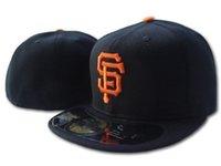 Gigantes masculinos chapéu chapéu preto cor laranja sf plana viseira no campo todo time esporte baseball apagado chapéus Sox fan hop hop cheia perto