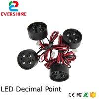 2pcs / lot Punto decimale a LED per i moduli Digita numeri, segni a LED Outdoor Auto impermeabile Prezzo