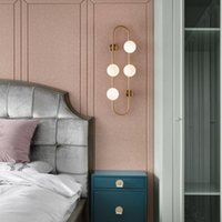 Wall Lamps Modern Minimalist Lamp Iron Led Mirror For Living Room Study Bedroom Bathroom Bedside Nordic Decor Home