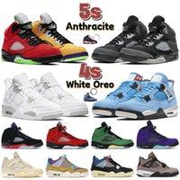 أحدث 4 4s الرجال أحذية كرة السلة 5 5s جامعة الأزرق الأبيض أوريو ما أنثراسايت أفضل 3 أحذية رياضية للرجال والنساء المدربين