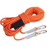 Kordeln, Schlinge und Gurtband 10m Professionelle Rockklettern Kabel im Freien Wandern Zubehör Seil 9,5 mm Durchmesser 2600 lbs Hohe Festigkeit Sicherheit