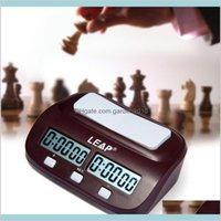 Autres accessoires Horloges Accueil Décor Jardin Digital Professional Chess Horloge Comptez sur la minuterie Sports Electronic I-Go Concurrence B