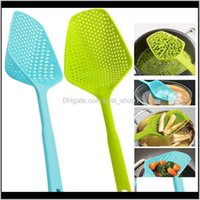 Autres outils Filtre non bâton Spômes de drainage Cuisine Gadgets Pratique Couleur Pure Couleur Plastique Grosse Veak Spoon Protection de l'environnement 1 76H IHWGT