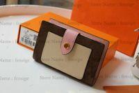 M69433 Juliette محفظة مصمم إمرأة Zippy Rosalie عملة محفظة مضغوط بطاقة مفتاح حامل الحقيبة مصغرة pochette accessoires cles victorine M69432 N60380
