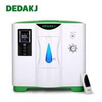 DÉDUKJ DE-2A 2L-9L Concentrateur d'oxygène Gadgets de soins à domicile Machine d'oxygène portable 90% Concentration haute concentration Oxygen générateur nébuliseur