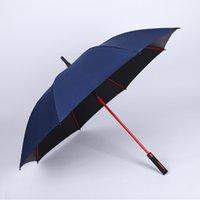 Regenschirm Business Vinyl Gerade Rod Golf Regenschirm 8 Knochen Sonnencreme Vinyl